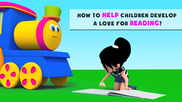 How to help children develop a love for reading?